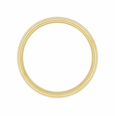 4.5mm Tiffany & Co Lucida Wedding Band 18K Yellow Gold Ring Size 8.75 - Item R1219Y18M - Image 1