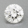0.63 Carat Loose Round Brilliant Cut Diamond Natural H Color SI1 Clarity with EGL USA Certificate  |  Very Good Polish, Eye Clean