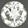 Loose 0.61 Carat Round Brilliant Cut Diamond Natural Warm L Color and Very Clean SI1 Clarity | EGL USA Certified