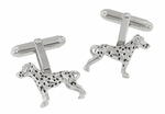 Dalmatian Cufflinks in Sterling Silver