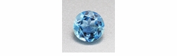 Deep Paradise Blue Loose 0.37 Carat Round Aquamarine | Natural 4.9 mm