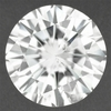 Loose Round 0.61 Carat F Color SI3 Clarity Diamond Natural and Eye Clean with Good Cut and EGL USA Certificate