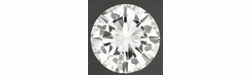 Natural 0.68 Carat Loose Round Brilliant Cut Diamond I Color VS2 Clarity with EGL USA Certificate
