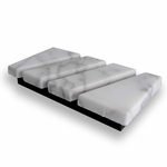 Business Card Holder (White Marble) - New!