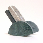 Cell Phone Rocker (Green Marble)