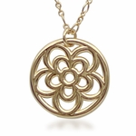 Rosette Heart and Flower Jewelry