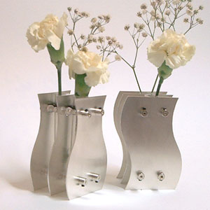 Wedding Gift Ideas In Silver : 25th Anniversary Sterling Silver Vases, Unique Silver Anniversary Gift ...