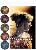 50% OFF CLEARANCE! ~ [DISCONTINUED] ALCHEMIE metallic lustre eyeshadows - vegan/cruelty free