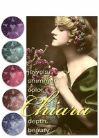 50% OFF CLEARANCE! ~ [DISCONTINUED] CHIARA shimmering jewel tone mineral eyeshadow - vegan/cruelty free