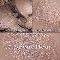 #lovenotfear - a beautiful shade to benefit Autism Acceptance through Golden Hat Foundation