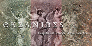 New OKEANIDES (Daughters of Oceanus) Eyeshadow Collection