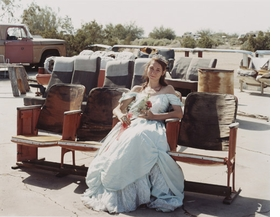 "Featured photograph, ""Queen of the Prom, the Range Nightclub, Slab City, California, March 2005,"" by Joel Sternfeld, is reproduced from the catalogue to the <I>2013 Carnegie International.</I> (Image Courtesy of the artist & Luhring Augustine, New York.)"