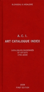 A.C.I., Art Catalogue Index