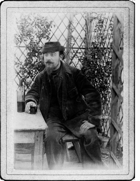 "Featured image, of Erik Satie in his days as ""The Velvet Gentleman"" (c.1895/6_ is reproduced from <I>A Mammal�s Notebook: The Writings of Erik Satie</I>."