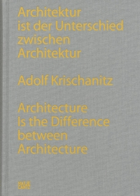 Adolf Krischanitz: Architecture is the Difference Between Architecture