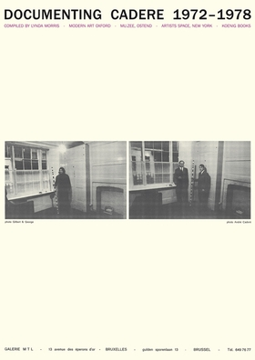 Andr� Cadere: Documenting Cadere, 1972-1978
