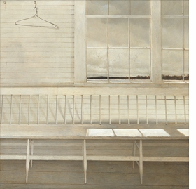 "Featured image, ""Off at Sea"" (1972), tempera, private collection, is reproduced from <I>Andrew Wyeth: Looking Out, Looking In</I>."