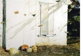 """Featured image, """"Home Grown"""" (1974) � Andrew Wyeth, is reproduced from <I>Andrew Wyeth: Looking Out, Looking In</I>."""