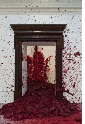"""Featured image, """"Moon Shadow"""" (2005), is reproduced from <I>Anish Kapoor</I>."""