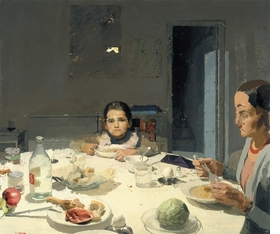 "Featured image, <i>La cena</i>, (The Dinner), painted by L�pez Garc�a between 1971-1980, is reproduced from DAP's <a href=""http://www.artbook.com/9781935202653.html"">Antonio L�pez Garc�a: Paintings and Sculpture</a>."