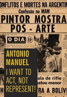 Antonio Manuel: I Want to Act, Not Represent