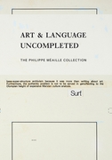 Art & Language Uncompleted