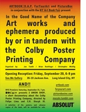 ARTBOOK | D.A.P., PictureBox and ForYourArt present artworks and ephemera from the Colby Printing Company at the NYABF