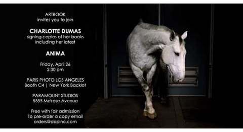 ARTBOOK + Paris Photo Signings, Friday, April 26