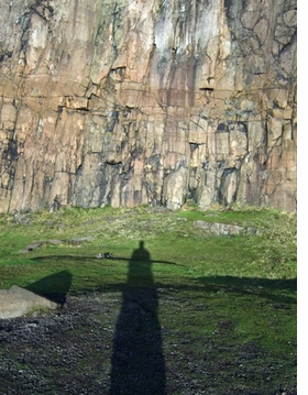 """Featured image is reproduced from <I>Bertrand Fleuret: The Cliffs</I>, where it appears alongside the caption, """"I am standing by a wall of dark cliffs. They form a circle of about 100 meters in diameter."""""""