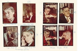 Featured photographs - of Virginia Woolf and James Joyce in 1939 - are reproduced from <I>Carnets de Gis�le Freund</I>.