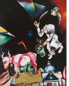 Featured image is reproduced from <I>Chagall</I>.