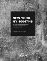 Christoph Faulhaber: New York, NY 10047-48