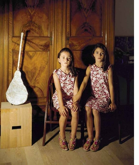"Featured image, ""Portrait of Two Sisters, 2009 (with Franz West Guitar),"" is reproduced from <I></I>."