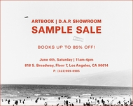 Come to Our Los Angeles Sample Sale!