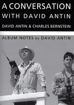 Conversation With David Antin, A