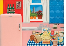 """Featured image is Tom Wesselmann's <i>Still Live #30</i>, reproduced from <a href=""""9780870708084.html"""">Counter Space: Design and the Modern Kitchen</a>."""