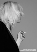 Courtney Love by Hedi Silmane: Portrait of a Performer