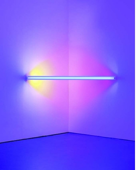 Featured image is reproduced from 'Dan Flavin: Corners, Barriers and Corridors.'