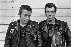 Featured photograph is reproduced from <I>Danny Lyon: The Bikeriders</I>.