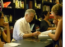 David Lynch at Book Soup, L.A.
