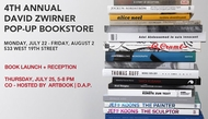 David Zwirner Gallery & ARTBOOK Present a Summer Pop-Up Bookstore