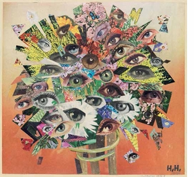 """The Bouquet"" (1929-65), by Hannah H�ch, is reproduced from <I>Day Dreams, Night Thoughts: Fantasy and Surrealism in the Graphic Arts and Photography</I>."