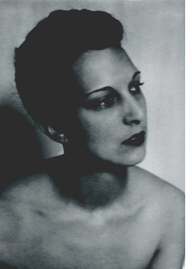 Sybil Mesens, photograph by Man Ray, is reproduced from <I>Don't Tell Sybil</I>.