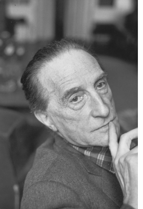 Featured portrait is reproduced from <I>Duchamp: A Biography</I>.