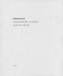 Ed Ruscha: Catalogue Raisonn� of the Paintings, Volume IV