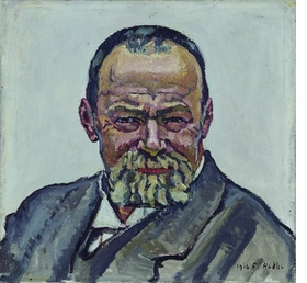 "Featured image, ""Self Portrait 2"" (1916), is reproduced from <I>Ferdinand Hodler</I>."