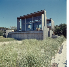 Featured image is reproduced from <I>Fire Island Modernist: Horace Gifford and the Architecture of Seduction</I>.