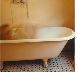 Francesca Woodman: On Being an Angel, bathtub