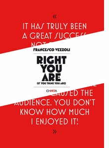 Francesco Vezzoli: Right You Are (If You Think You Are)