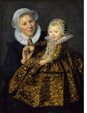 """Featured image, """"Catharina Hooft with her Nurse"""" (1618-1691), is reproduced from <I>Frans Hals: Eye to Eye with Rembrandt, Rubens and Titian</I>."""